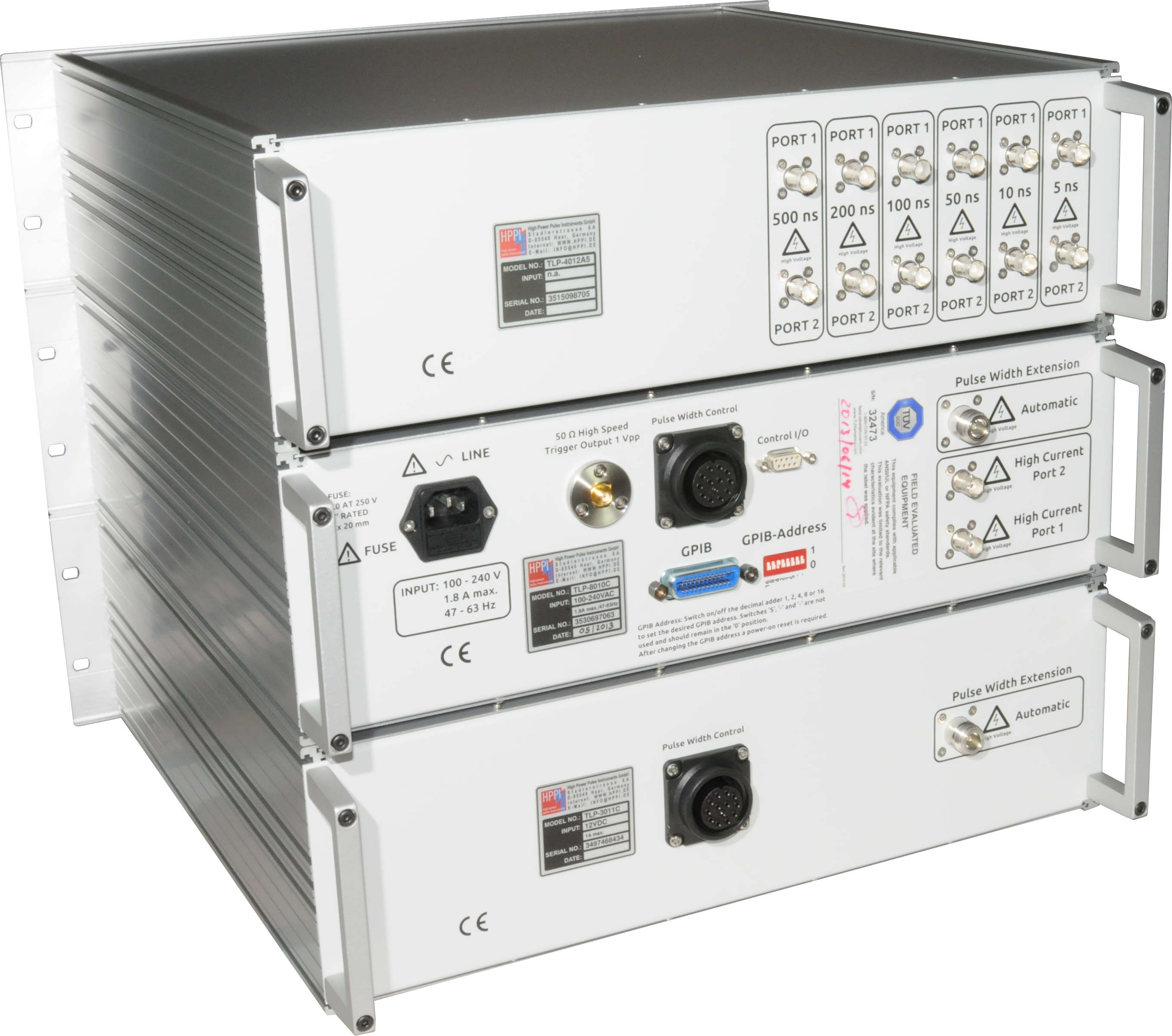 Tlp 8010c High Power Pulse Instruments Gmbh On Reset Generator Dsc 4588s