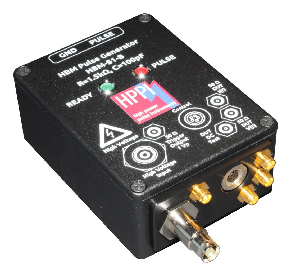 HBM-S1-B: ±6 kV HBM Extension for TLP