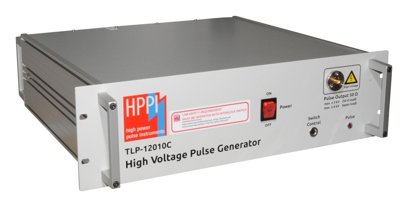 TLP-12010C: 120 A High Voltage 50 Ω Pulse Generator